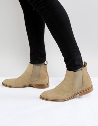 Good For Nothing Chelsea Boots In Tan Suede - Tan