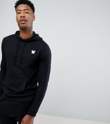 Good For Nothing Hoodie In Black with Chest Logo Exclusive to ASOS - Black