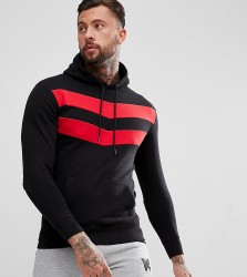 Good For Nothing Hoodie In Black With Chevron Print Exclusive To ASOS - Black