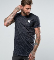 Good For Nothing Muscle T-Shirt In Black Speckle - Black