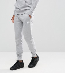Good For Nothing Skinny Joggers in Grey with Small Logo - Grey