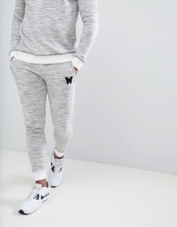Good For Nothing Skinny Joggers In Space Dye - Grey