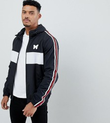 Good For Nothing windbreaker in black with side stripe exclusive to ASOS - Black