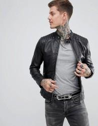 Goosecraft Cape Town biker in black - Black