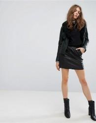 Goosecraft Leather Skirt - Black