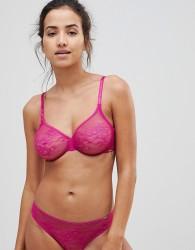 Gossard Glossies Lace Bra - Pink