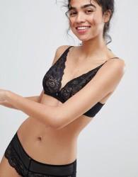 Gossard lacey triangle bra - Black