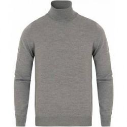 Gran Sasso Merino Fashion Fit Rollneck Light Grey