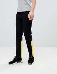 Granted Raw Edge Jeans With Contrast Panel - Black