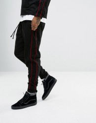 Granted Track Joggers In Black - Black