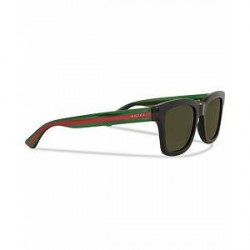Gucci GG0001S Sunglasses Black/Green