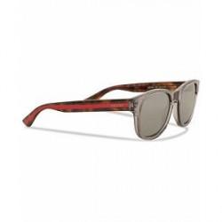 Gucci GG0003S Sunglasses Grey/Avana/Silver