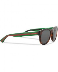 Gucci GG0003S Sunglasses Havana/Grey/Green men One size Brun