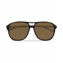 Gucci GG0016S Sunglasses Black/Brown