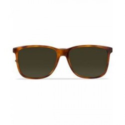 Gucci GG0017S Sunglasses Avana/Green
