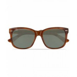 Gucci GG0050S Sunglasses Avana/Green