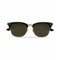 Gucci GG0051S Sunglasses Black/Silver/Green