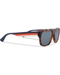 Gucci GG0341S Sunglasses Havana/Blue men One size Brun