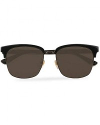 GUCCI GG0382S Sunglasses Black/Grey men One size Sort,Grå