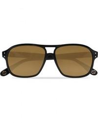 GUCCI GG0475S Sunglasses Black/Brown men One size Sort