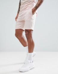 Gym King Shorts In Beige With Logo - Beige