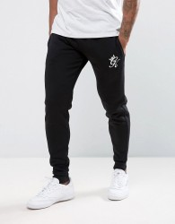 Gym King Skinny Fit Joggers In Black - Black