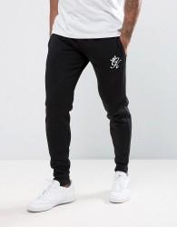 Gym King Skinny Fit Joggers In Black - Black