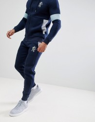 Gym King Skinny Joggers In Navy - Navy