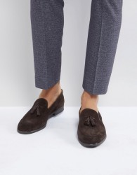 H By Hudson Dickson Suede Loafers - Brown