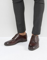 H By Hudson Hicken Lace Up Shoes In Brown - Black