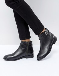 H by Hudson Jodhpur Leather Boot - Black