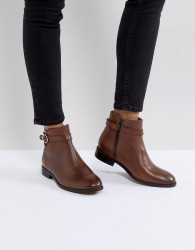 H by Hudson Jodhpur Leather Boot - Tan