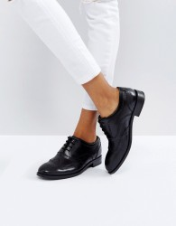 H by Hudson Leather Brogue - Black