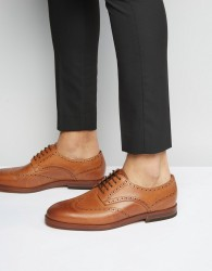 H By Hudson Talbot Brogues - Tan