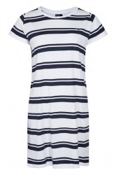H2O - Kjole - Bellevue Dress - White/Navy
