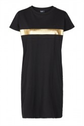 H2O - Kjole - Cavan Dress - Black/Gold