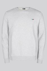 H2O - Sweat - Lind Logo Sweat O Neck - Light Grey Melange