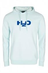 H2O - Sweatshirt - Lind Flock Sweat Hoodie - Peppermint/Blue