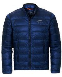 Hackett AMR Moto Jacket Blue men S Blå
