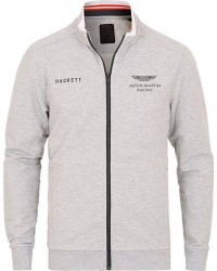 Hackett Aston Martin Full Zip Grey