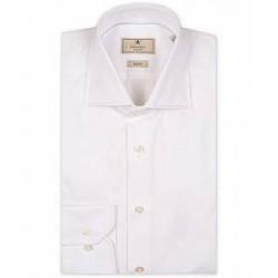 Hackett Mayfair Slim Fit Poplin Shirt White