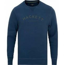 Hackett Mr Classic Crew Neck Sweatshirt Navy