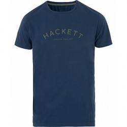 Hackett Mr Classic Crew Neck Tee Navy