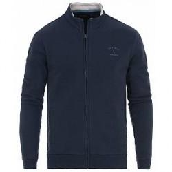 Hackett Mr Classic Full Zip Sweater Navy