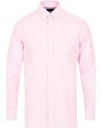 Hackett Slim Fit Oxford Shirt Pink
