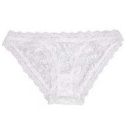Hanky Panky Signature Lace Brazilian Bikini - White - Large