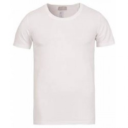 HANRO Cotton Superior C-Neck T-Shirt White