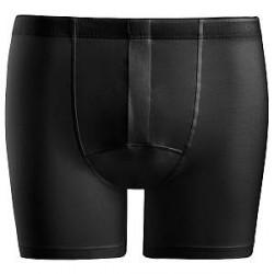 Hanro Cotton Superior Short-leg Boxer - Black - Large