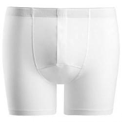 Hanro Cotton Superior Short-leg Boxer - White - Large