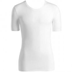 Hanro Cotton Superior Short-sleeved Shirt - White * Kampagne *